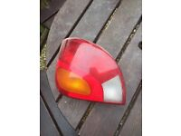 Tail lights for Ford fiesta and focus