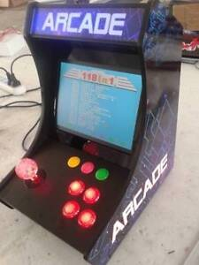 118 GAME BARTOP TABLE TOP ARCADE MACHINE ALSO PLUGS IN TO TV Malaga Swan Area Preview