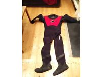 Scuba Dry Suit - Large, good condition
