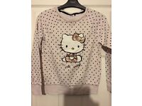 Next hello kitty sweatshirt (collection only)