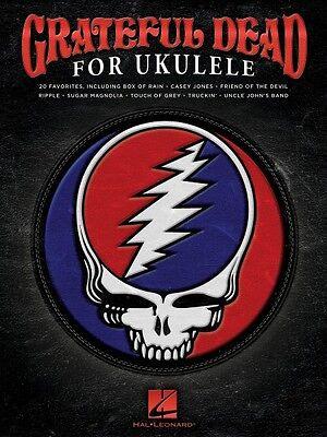 Grateful Dead For Ukulele Sheet Music Ukulele Book New 000139464