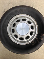 Mickey Thompson Drag Slicks (4 Bolt Ford Mustang Rims)
