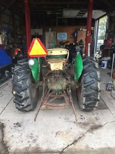 1967 Oliver 550 runs very well Bush hog included London Ontario image 4