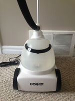 Stand up clothing steamer