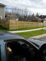 FREE ESTIMATES!  Need a deck, railing, steps, a fence?
