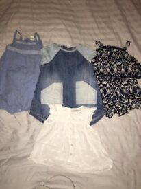 Baby girls clothes bundle (9-12months)