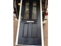 Composit upvc door and frame