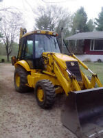 2001 JCB 214 SERIES 3 BACKHOE IN GOOD CONDITION