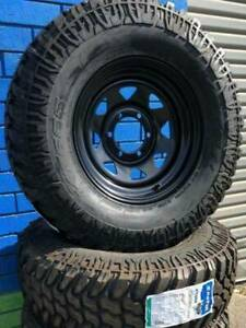 LT265/75R16 fitted onto new Sunraysia Black rims