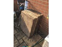 """Council"" slabs (shed base)"