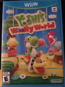 Yoshi's wolly world wii u