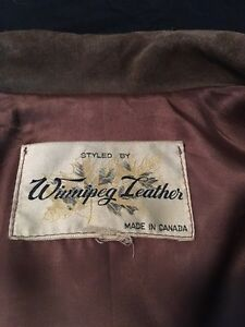 Genuine Buckskin Winnipeg Leather Jacket Strathcona County Edmonton Area image 3