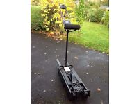 NordicTrack ski excercise machine. Build strength for skiing or aerobic excercise