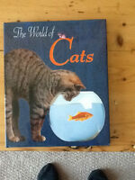 THE WORLD OF CATS  BOOK  NEW