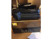 Nikon MB-D12 Battery Grip with extra battery