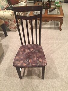 Complete set of six chairs