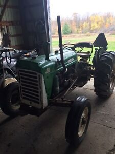 1967 Oliver 550 runs very well Bush hog included London Ontario image 6