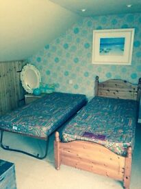 Pine Trunk Bed includes mattress