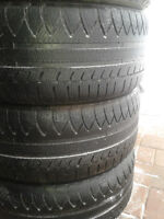 Set of 4 Michelin Pilot Alpin, Performance Winter/Snow 245/45R18