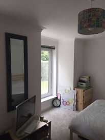 Large double room in modern, friendly house share - available immediately