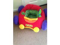 K's kids jumbo go go car red baby seat