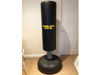 FreeStanding Punch Bag Golds Gym