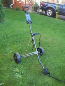Two Wheel Folding Golf Carts (Two Available)