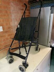 Umbrella fold buggy