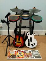 Kit complet Guitar Hero World Tour et bonus!