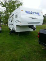 For Sale 2008 Wildwood 26ft.