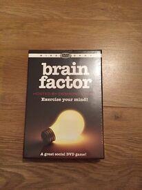 M&S brain factor DVD game