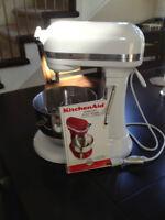 KitchenAid Professional HD Mixer (bowl lift/stand) White/Chrome