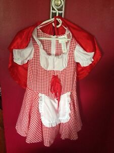 Little Red Riding hood costume -child 7-8