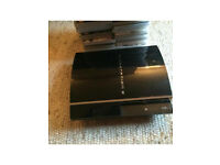 Sony PS3 consoles with games
