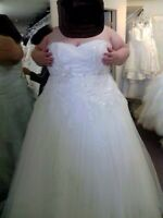 Size 26 Alfred Angelo Wedding Dress For Sale NEVER WORN