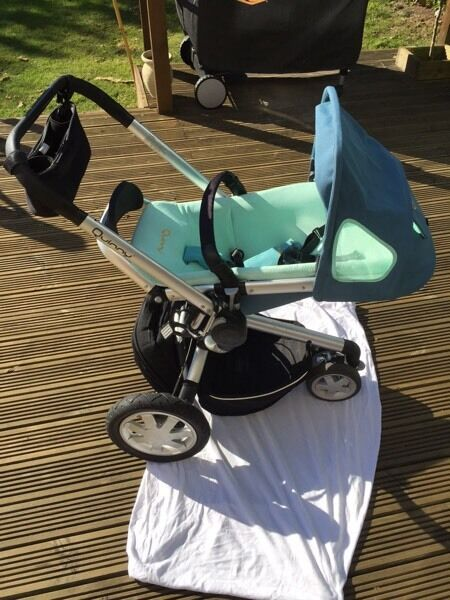 Quinny Buzz travel system + accessories
