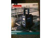 Makita lxt radio (brand new)