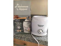 Tommee Tippee Closer to Nature Electric Bottle&Food warmer