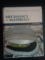 Mechanics of Materials Fourth (4th) Edition