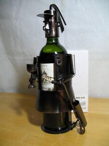 """Whimsical Wine Bottle Holder-""""Golf Diva"""""""