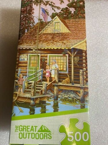 Masterpieces 500 Piece Jigsaw Puzzle - The Great Outdoors: Grandpa