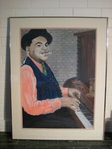Fats Waller painting