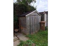 6x4 double door shed