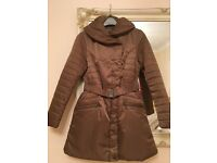 Laura Ashley - Ladies Coat / Jacket - Gold / Bronze - Size 10