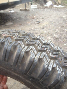 wanted old bias ply snow tires