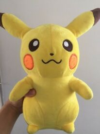 New Pikachu soft Toy great Christmas present