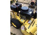 Great Dane petrol lawnmower hydrostatic 32 inch ferris scag