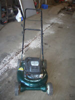6 Hp  craftsman 2in 1  push mower