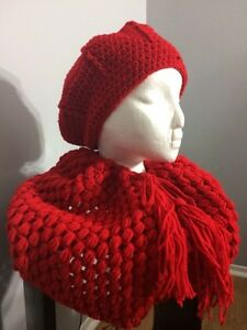 Various crocheted hats, scarves, headbands, cowls Kitchener / Waterloo Kitchener Area image 6