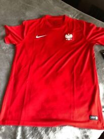 POLAND FOOTBALL NIKE OFFICIAL JERSEY